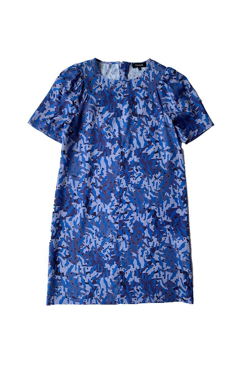 Selma Shift Dress - Tencel Print