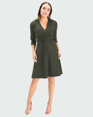 Aria Wrap Dress - A-line