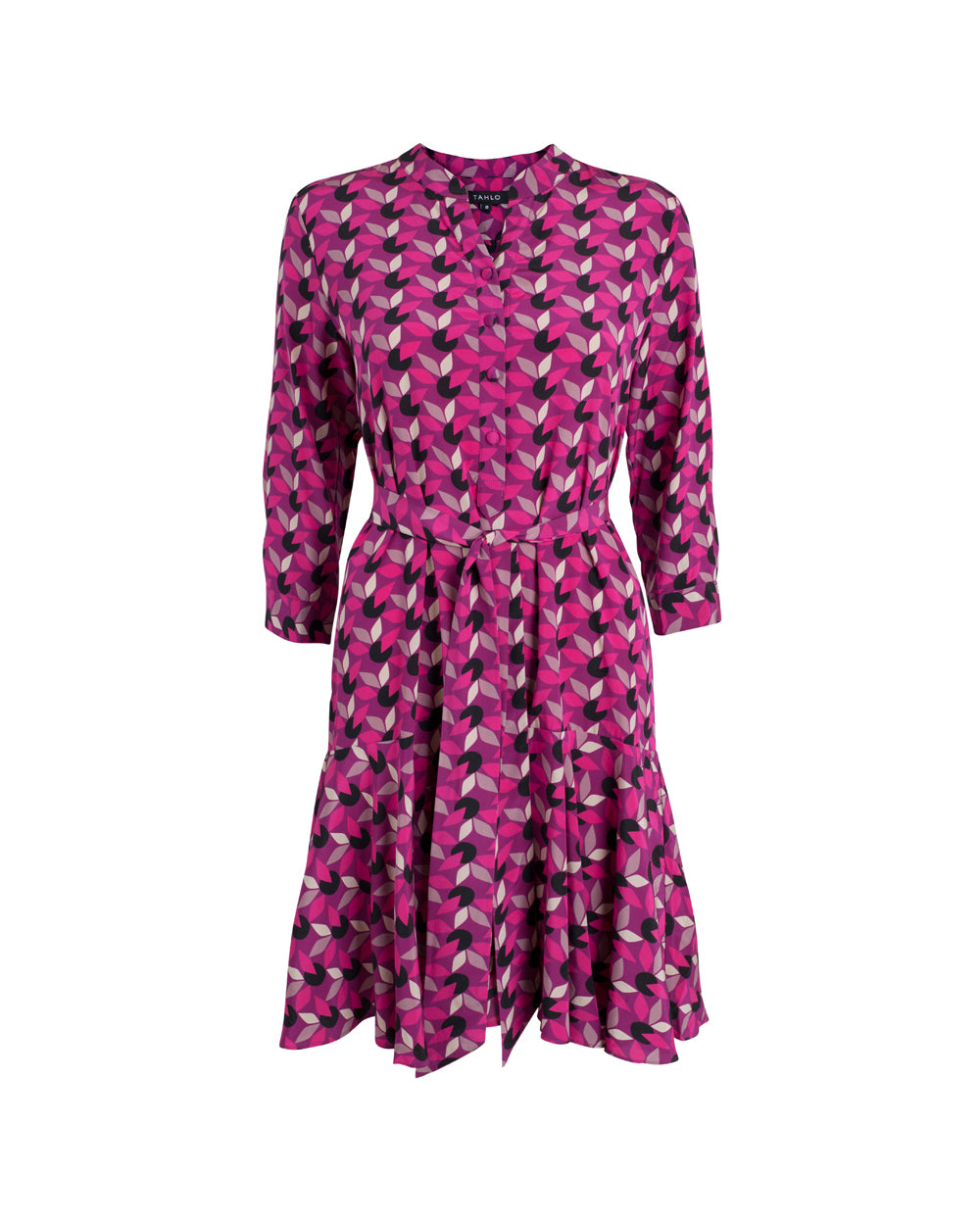 Kristy Silk Shirt Dress
