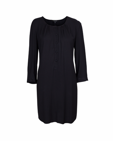 Ella Shirt Dress - Plain Silk