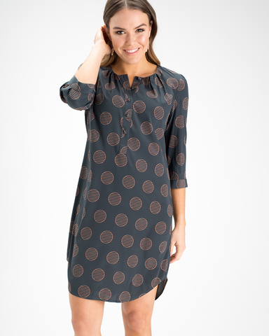 Ella Shirt Dress - Silk Prints