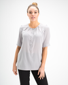 Ella Shirt - Plain Silk