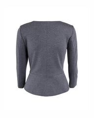 Peplum jacket with a bit of stretch for extra comfort