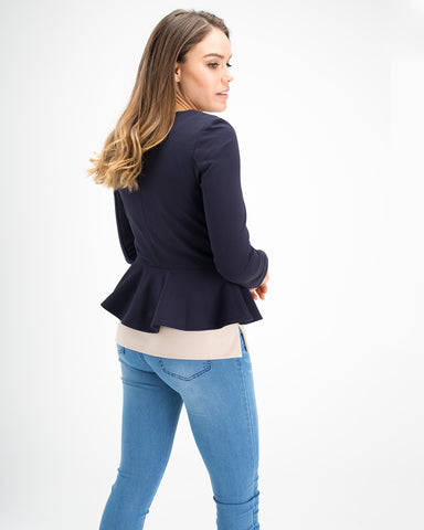 Dana Peplum Jacket - Extra Pep Edit