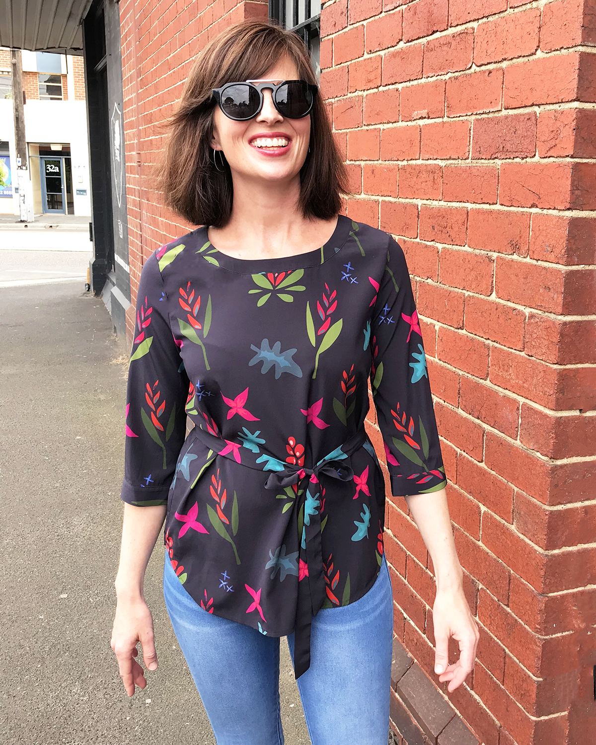 Kate Silk Blouse