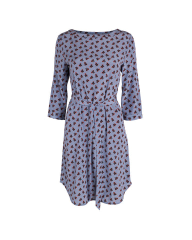 Kate Boatneck Dress - Silk Stretch