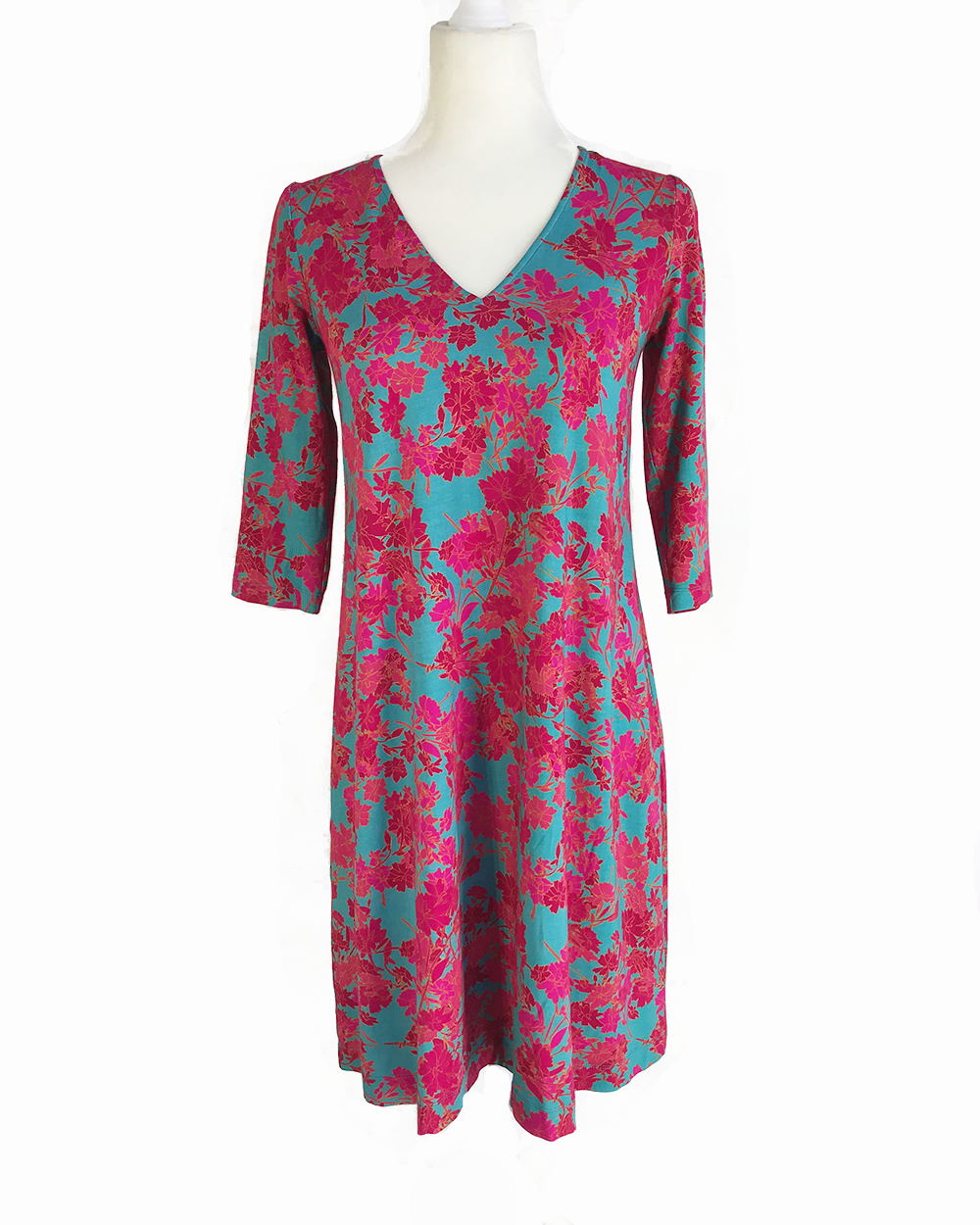 Libby Swing Dress in Bamboo