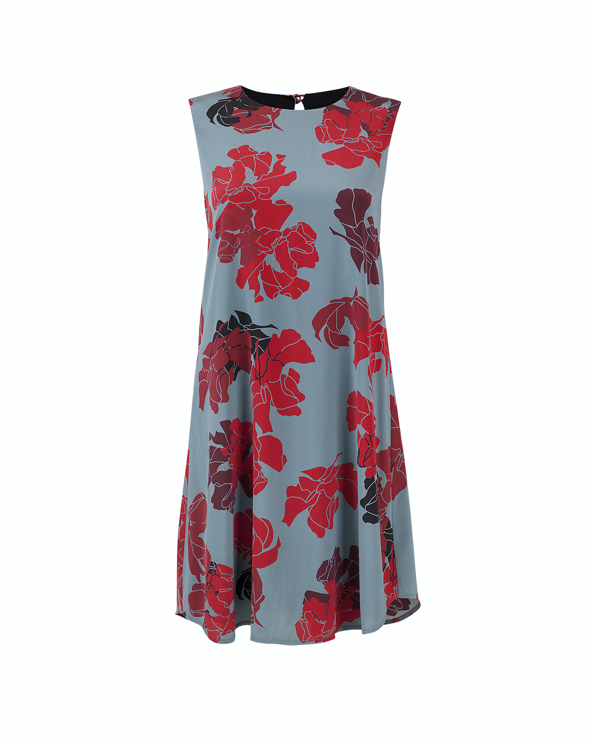 Libby Silk Swing Dress
