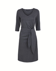 Anna Side Tie Dress - A-Line Boat Neck