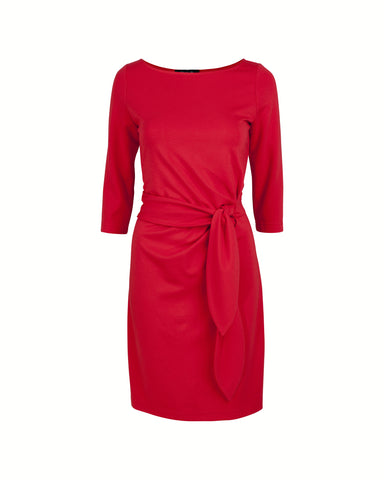 Anna Side Tie Dress - A-Line