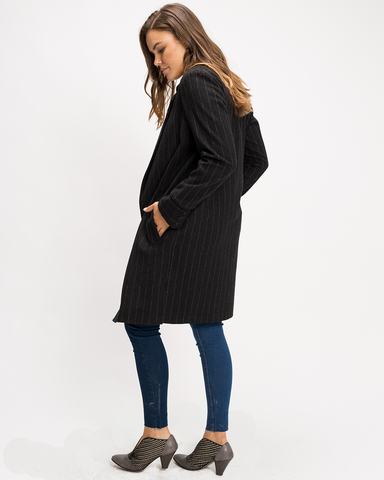 Double Button Duster Coat