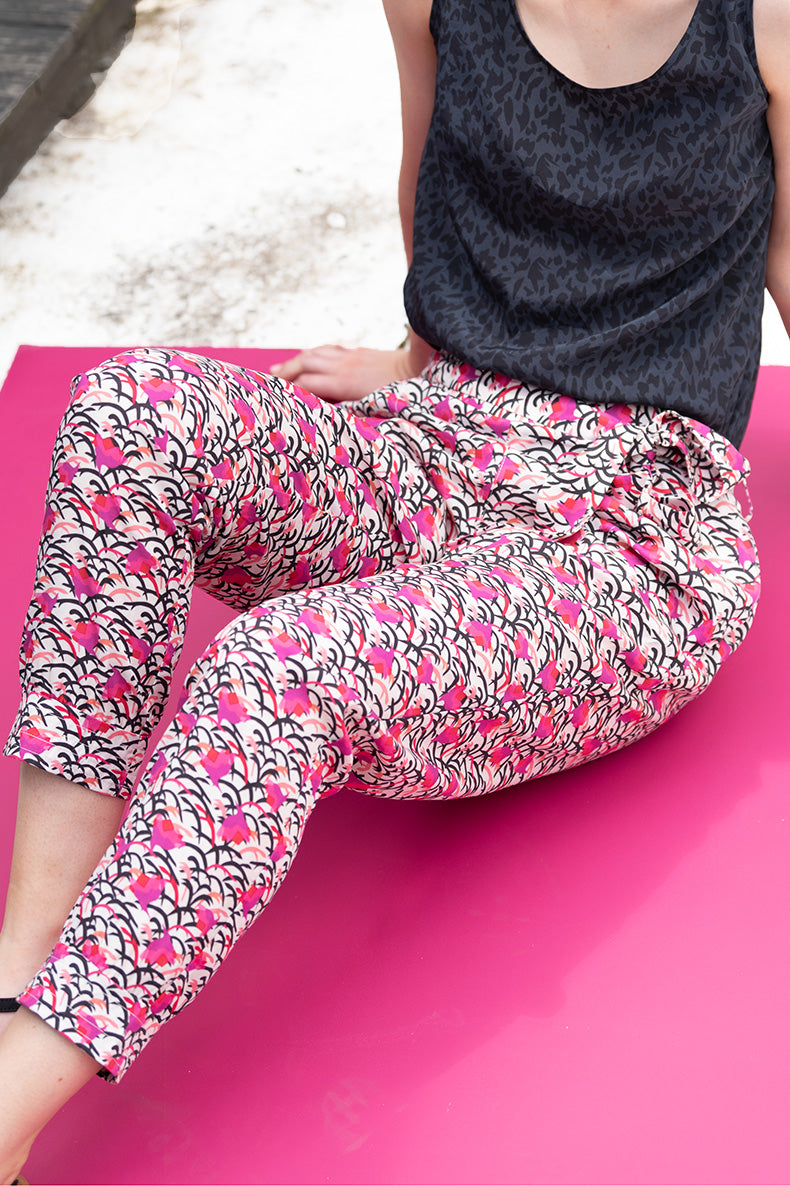 The Tencel Jogger - Print