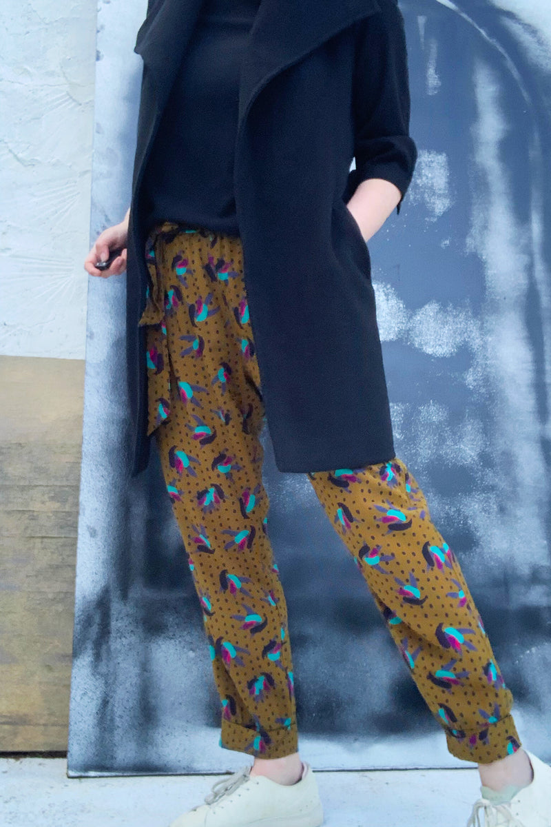 The Smith Silk Pant