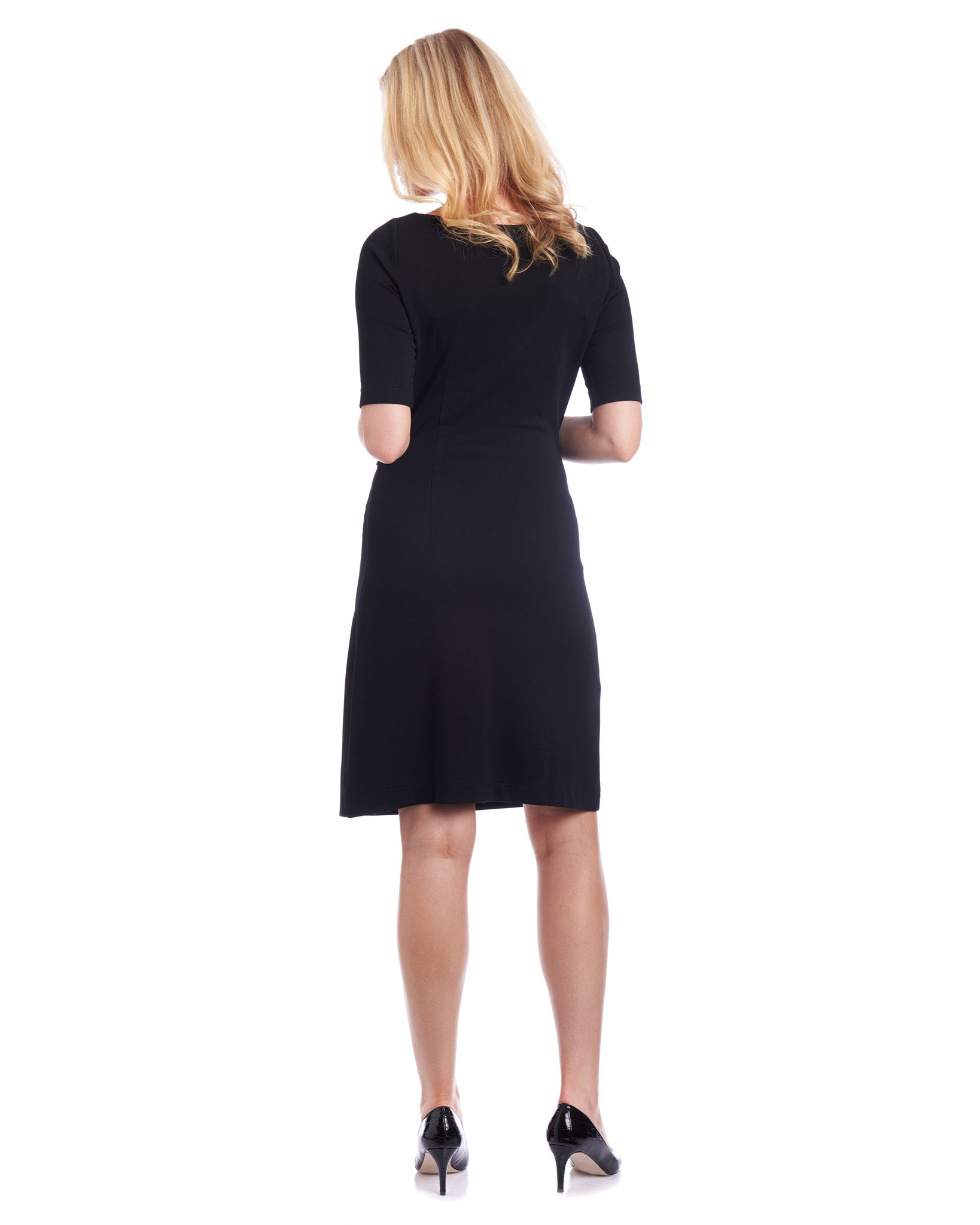 Tahlo: A-line dress with tie waist flatters many body shapes
