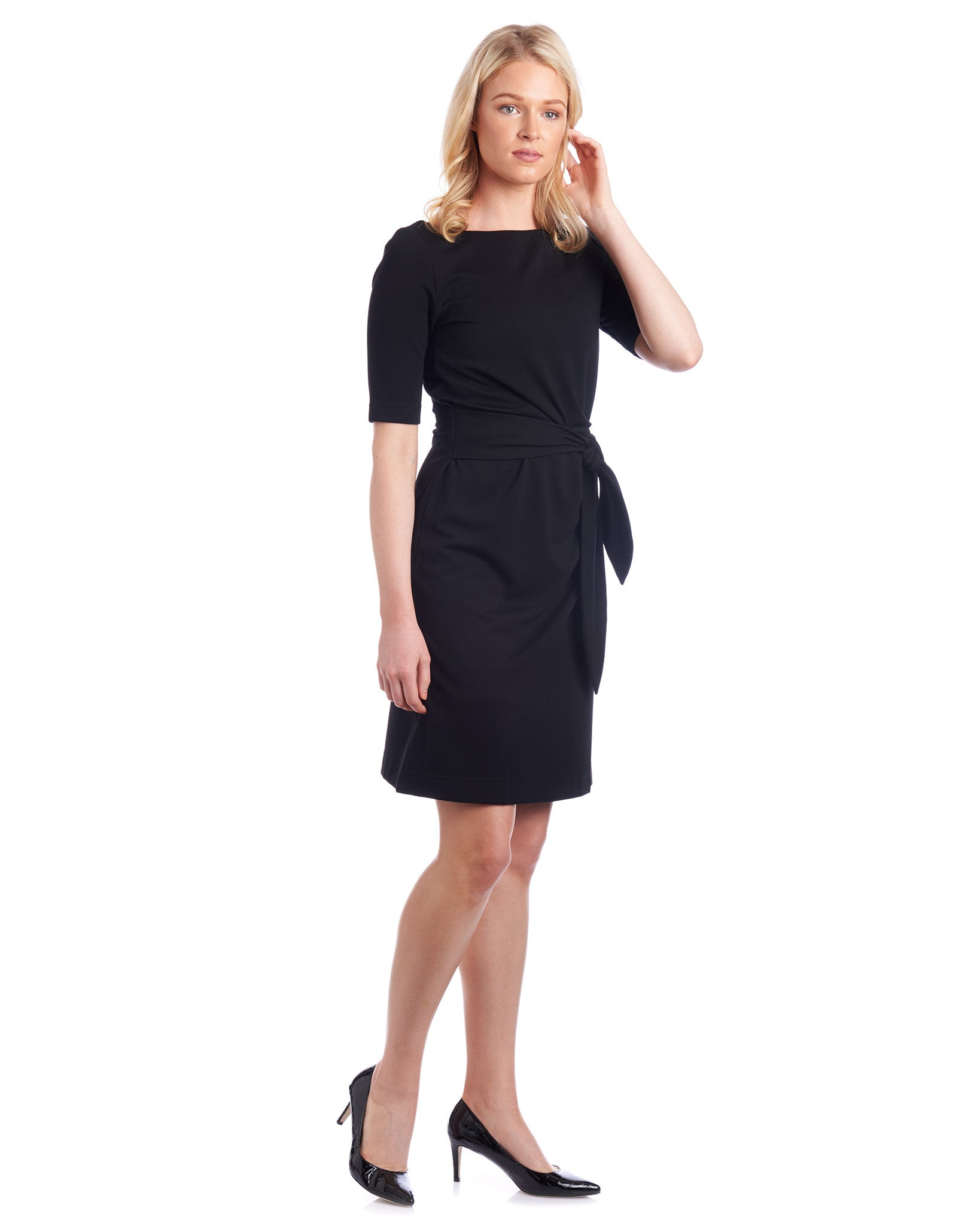 Choose the length of this Tahlo dress to fall above the knee or below the knee