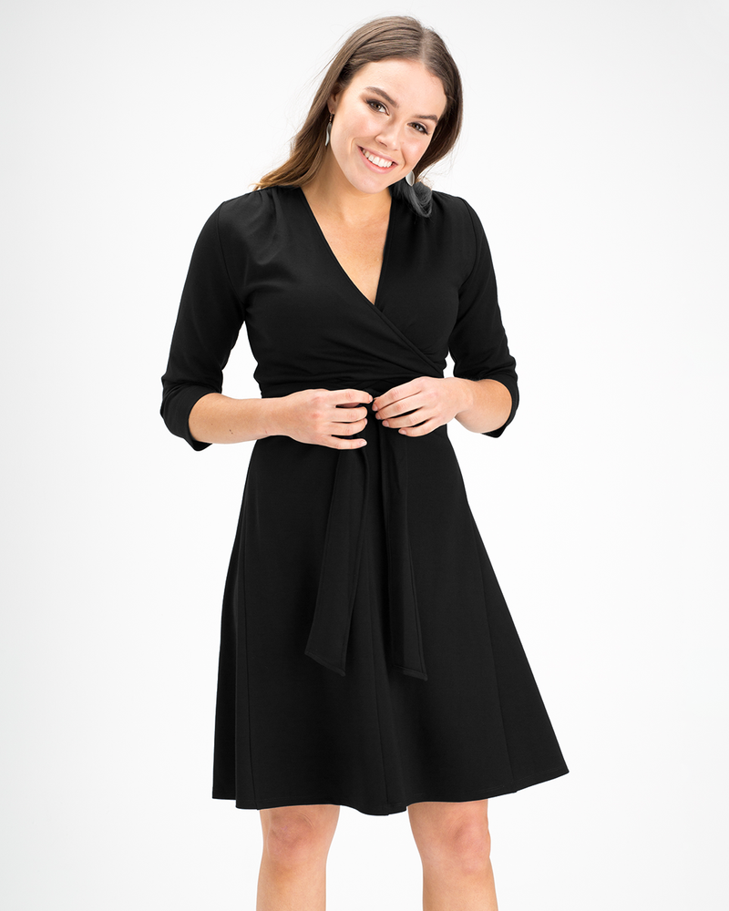 Aria A-line Wrap Dress