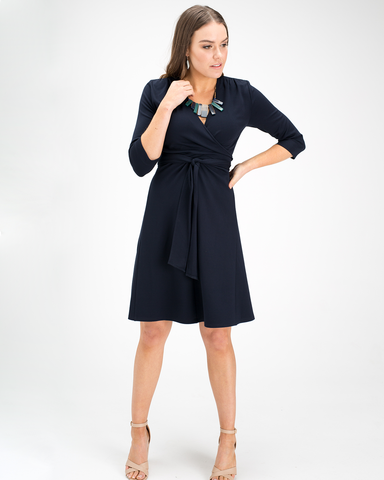 Aria Wrap Dress - A-line Skirt