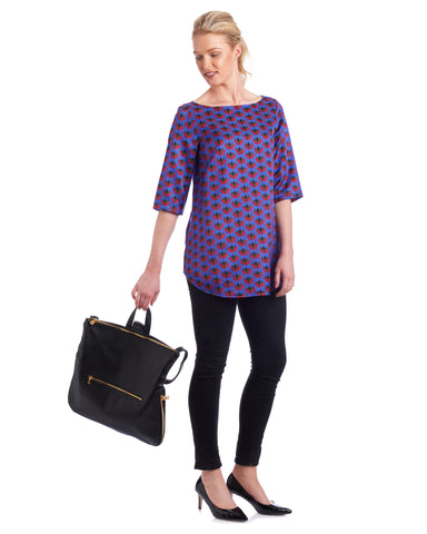 Tahlo's Pia tunic top can be dressed up or down and is suitable for all occasions.