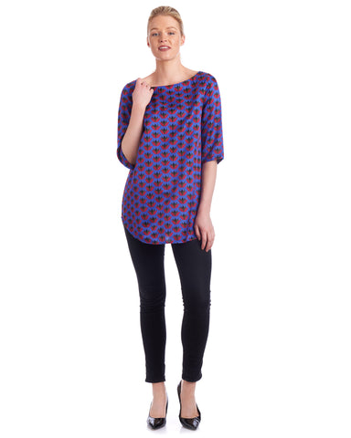 Dress this tunic top up with heels and pair with your favourite accessories for a night out.