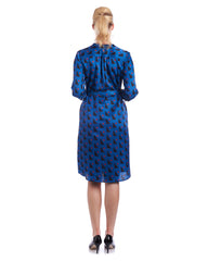 Tahlo's silk shirt dress is made to order to suit your body shape