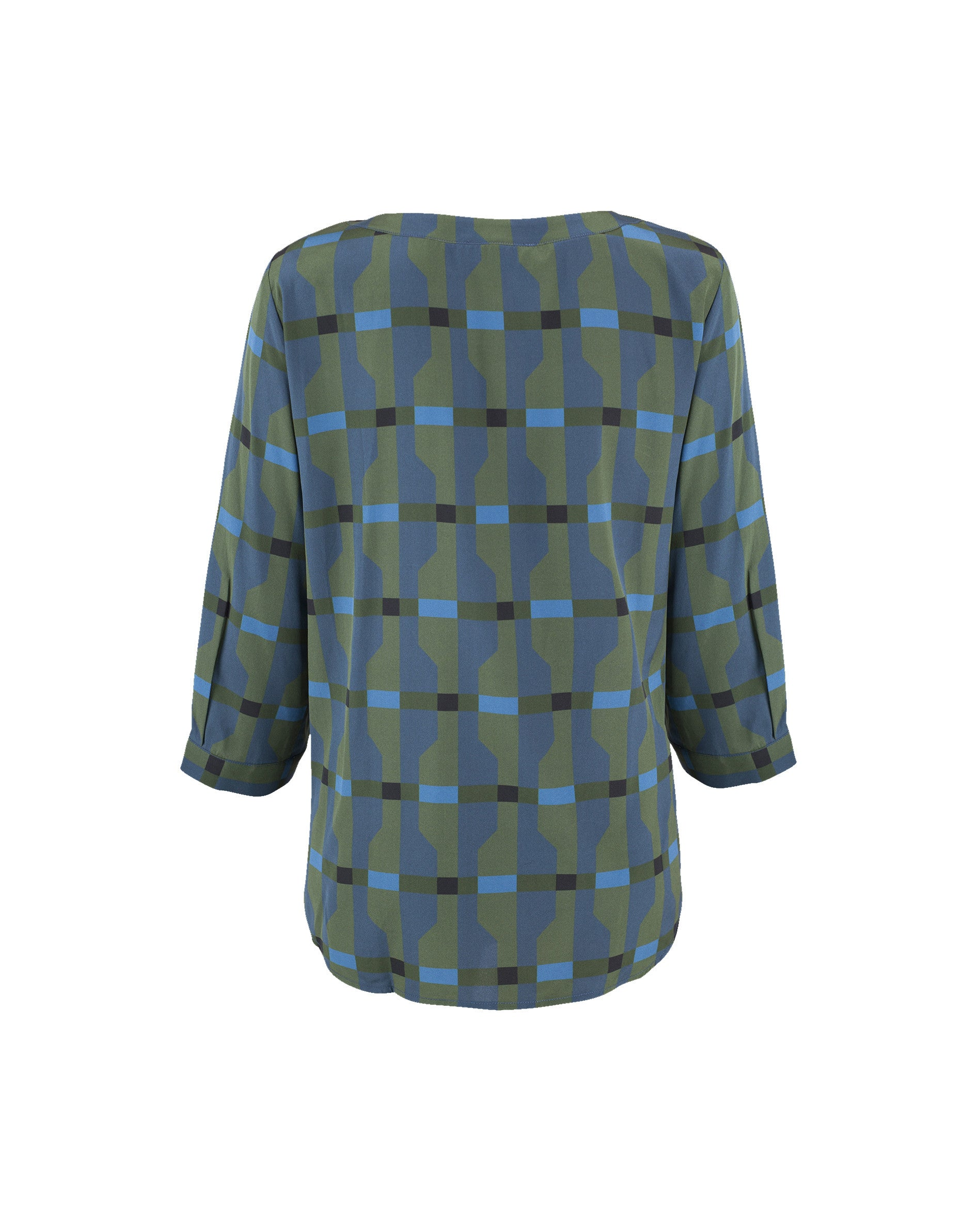Kate Boatneck Silk Blouse