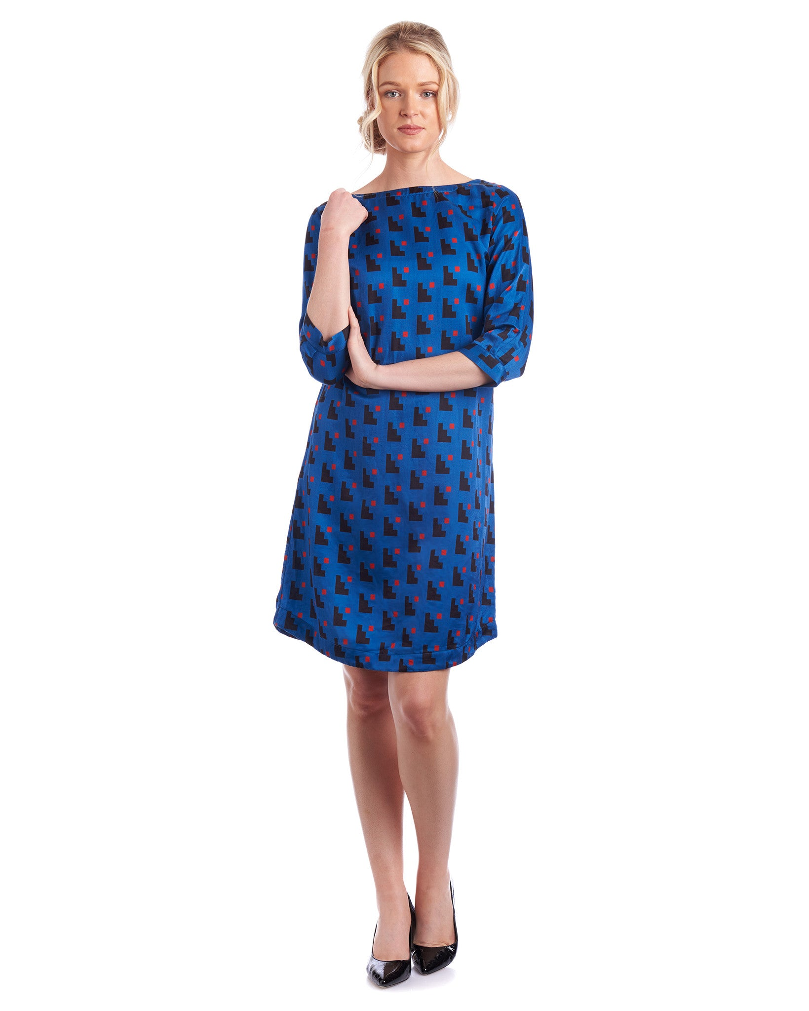 Tahlo silk dress with prints are the new wardrobe staple