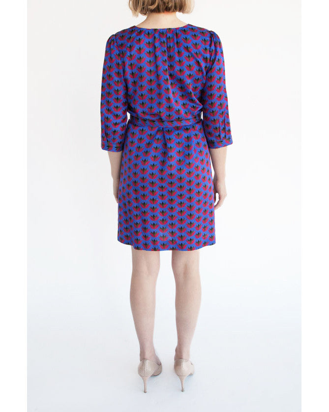 Ella Shirt Dress - Jagged Rose