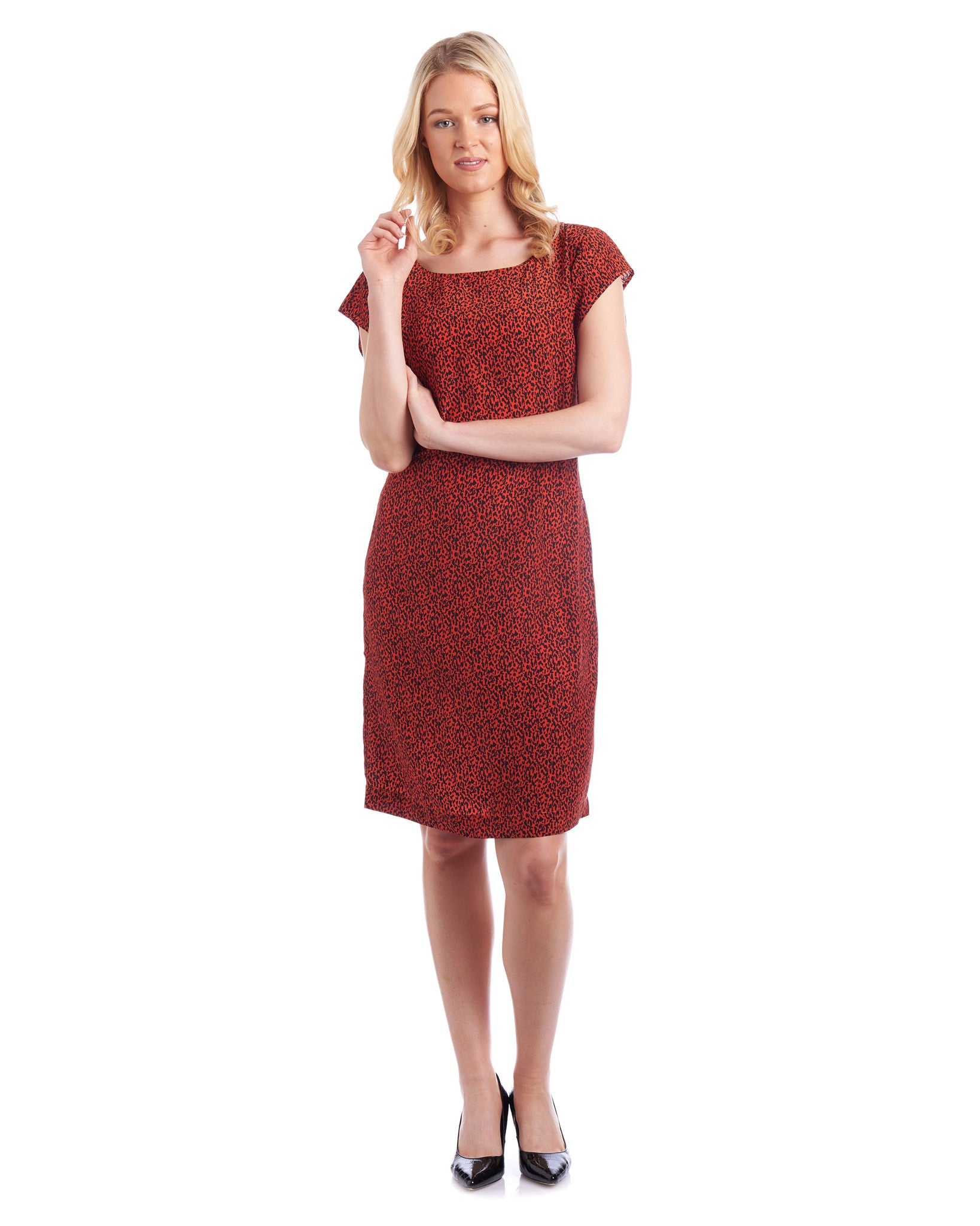 Susie Silk Shift Dress