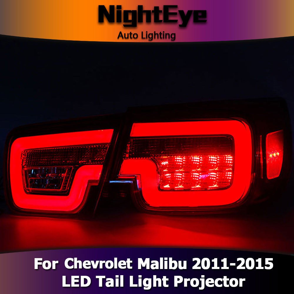 NightEye Chevrolet Malibu Tail Lights 2011-2015 New Malibu