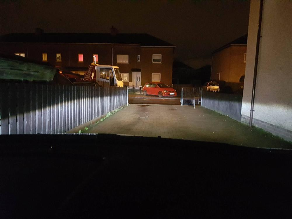 NightEye H7 LEDs Review (facelift fiesta) By James