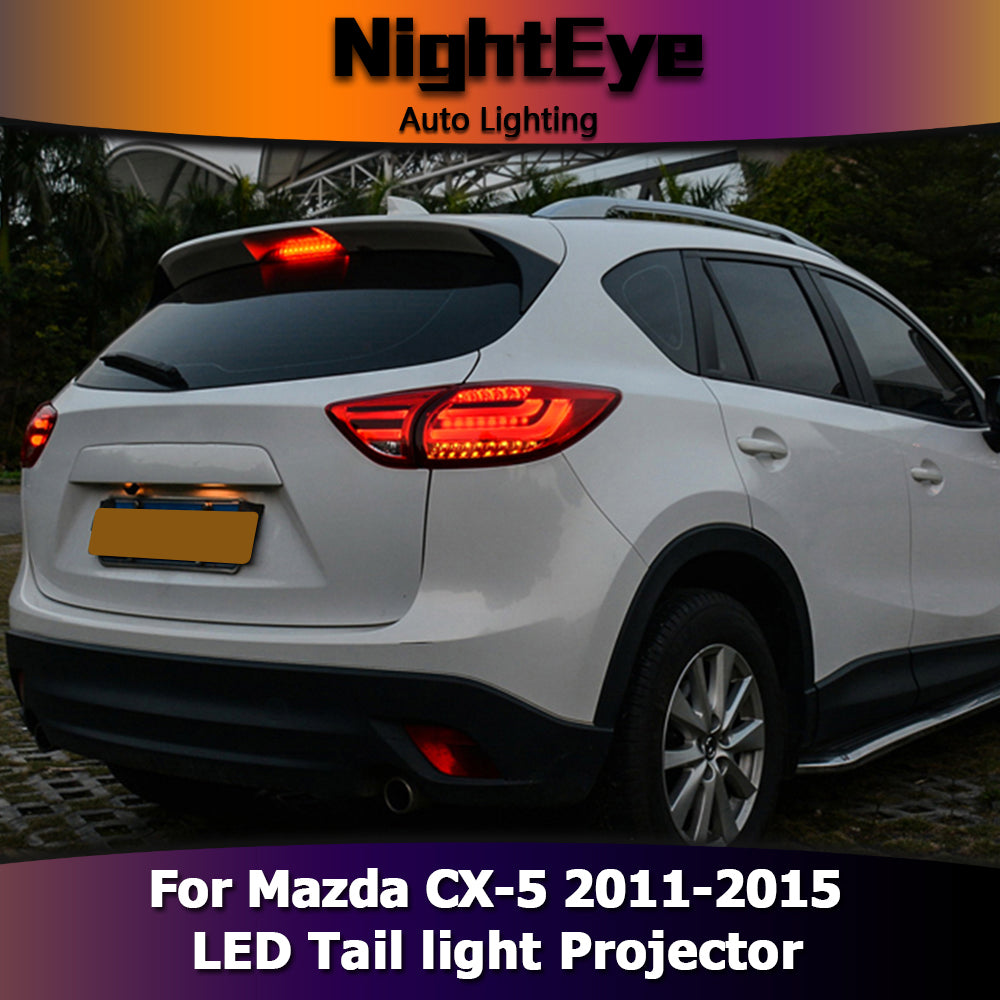 nighteye mazda cx 5 tail lights 2011 2015 mazda cx 5 led. Black Bedroom Furniture Sets. Home Design Ideas