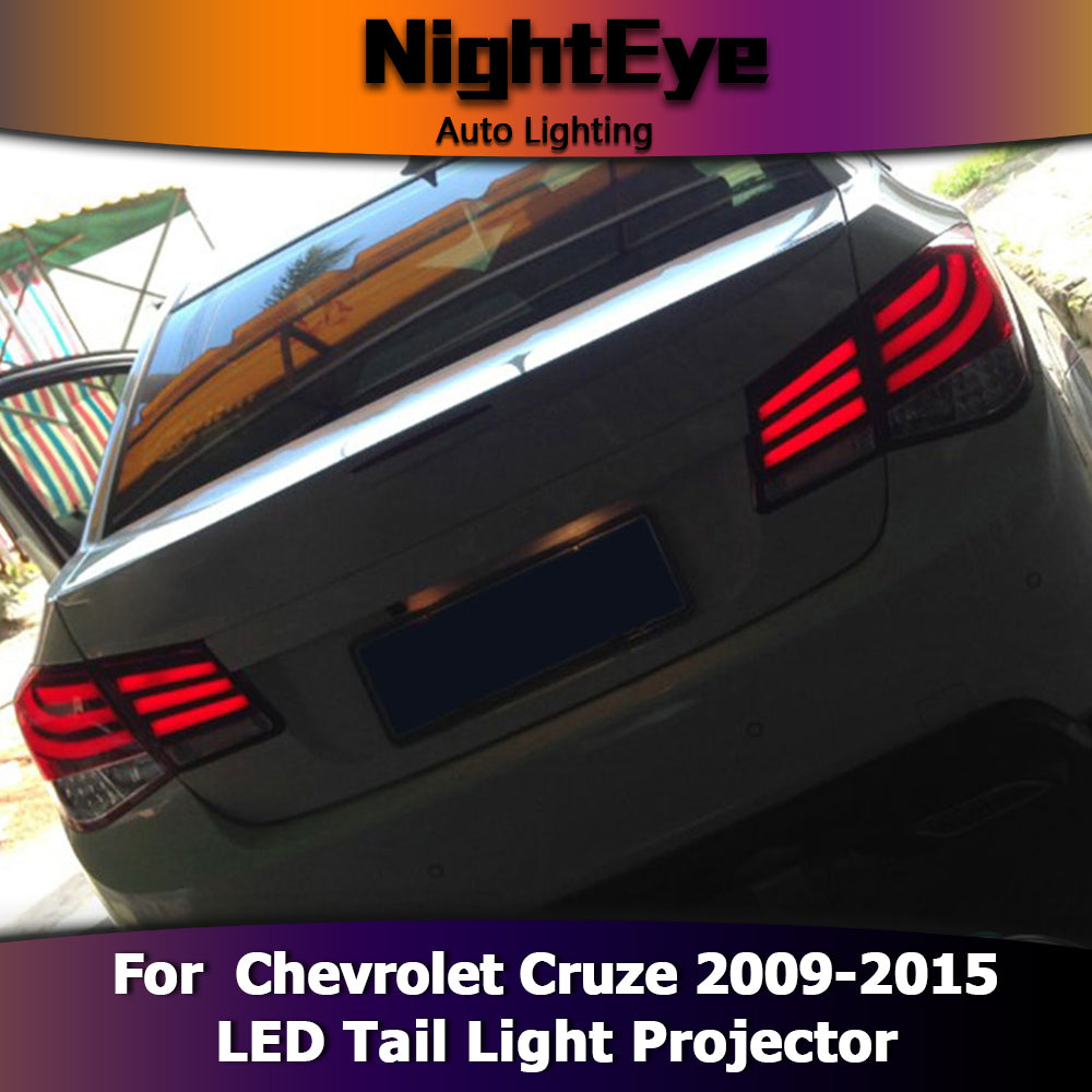 ... NightEye Car Styling For Chevrolet Cruze Tail Lights 5 Series Design  Cruze LED Tail Light ...