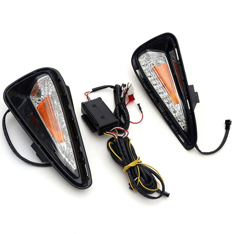 Car LED Daytime Running light DRL Fog Light For Toyota Kamimizu 2015