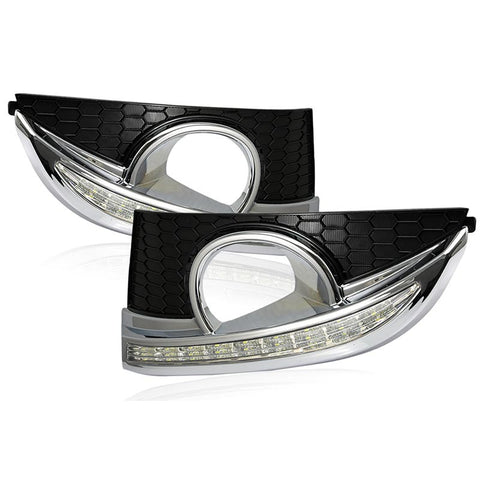 Car LED Daytime Running light DRL Fog Light For Chevrolet CAPTIVA 2011 2012
