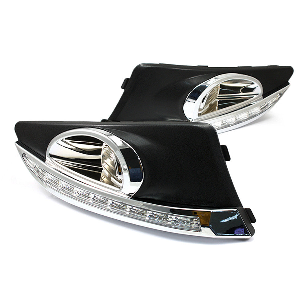 Car LED Daytime Running light DRL Fog Light For Chevrolet AVEO 2011~2013
