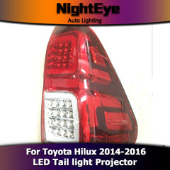 NightEye Toyota Hilux Tail Lights 2014-2016 New Revo LED Tail Light - NIGHTEYE AUTO LIGHTING