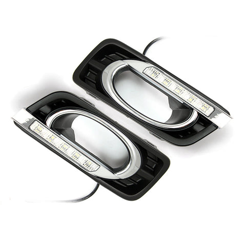 Car LED Daytime Running light DRL Fog Light For Honda CITY 2011-2012