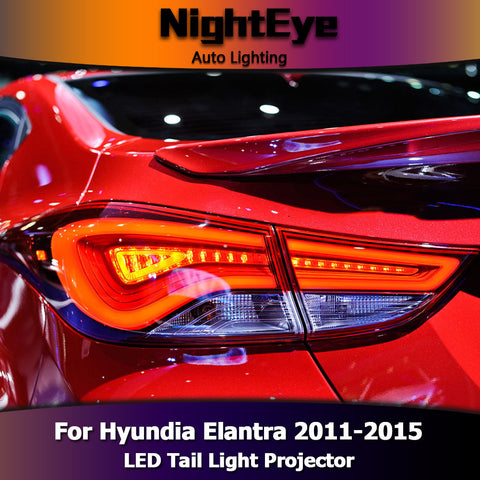 NightEye Hyundai Elantra Tail Lights Korea Design New Elantra MD Tail Light