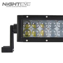 NIGHTEYE 72W 16.7 inch LED Work Light Bar