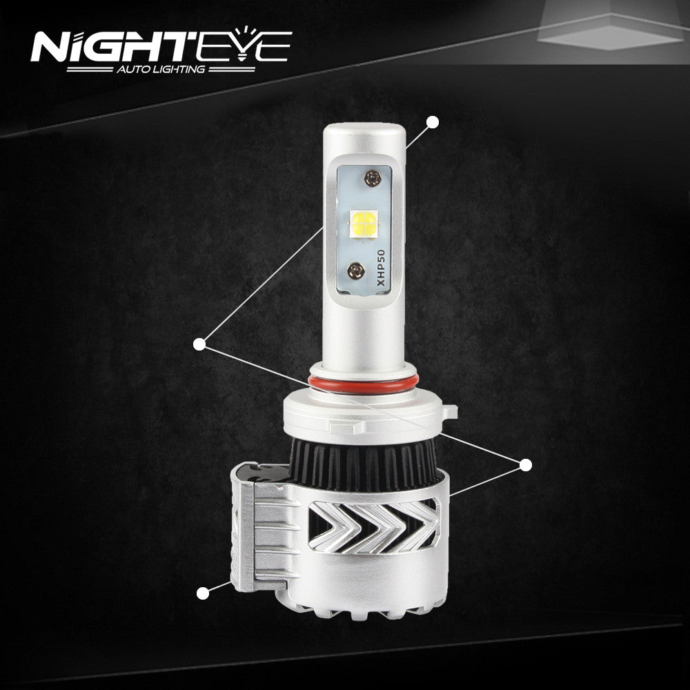 Nighteye 12000LM LED Car HeadLight Bulb Light Lamp White