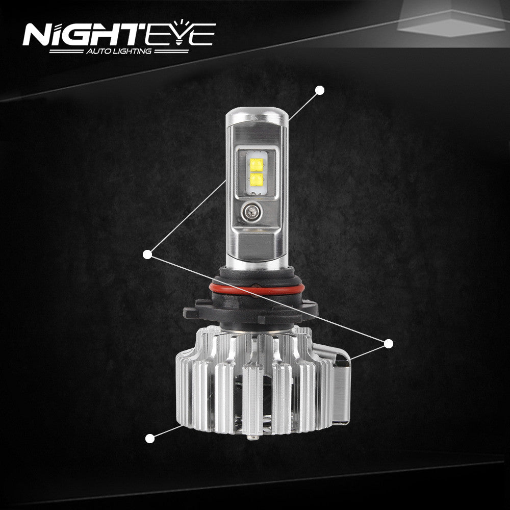 NIGHTEYE 9000LM 70W Car LED Headlights 9005