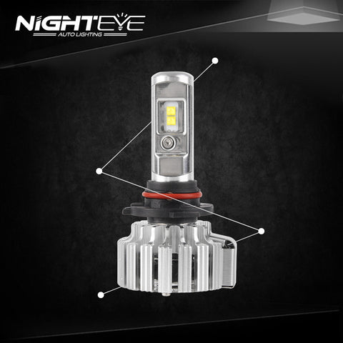 NIGHTEYE 9000LM 70W Car LED Headlights 9006