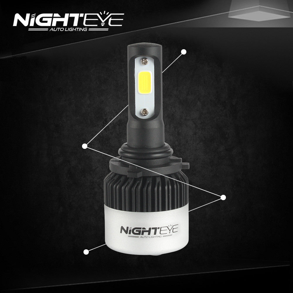 NIGHTEYE A315 9000LM 72W 9006 HB4 LED Car Headlight