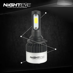 NIGHTEYE A315 9000LM 72W 9006 HB4 LED Car Headlight - NIGHTEYE AUTO LIGHTING