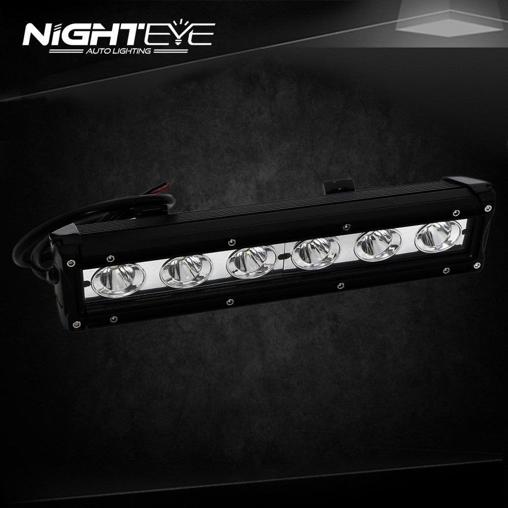 Nighteye 4d 30w cree led light bar for work indicators driving offroad nighteye 4d 30w cree led light bar for work indicators driving offroad boat car tractor truck aloadofball Images