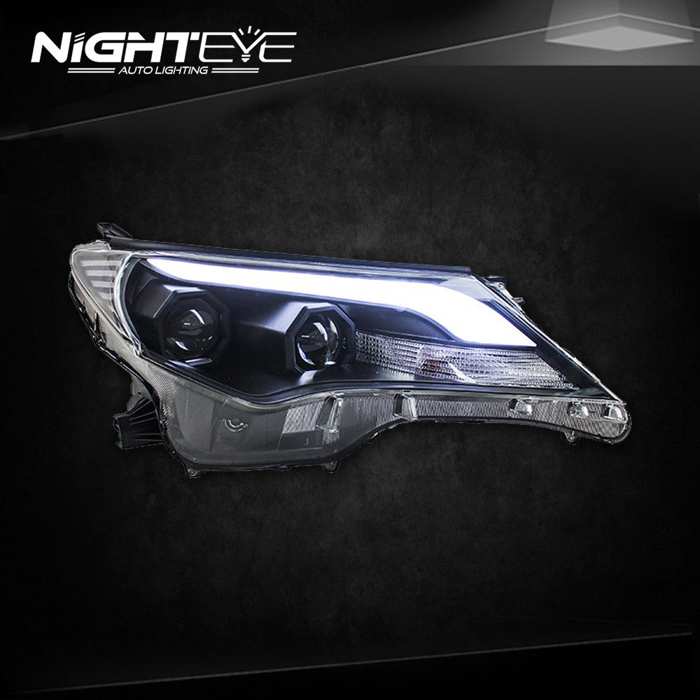 NightEye 2014-2015 New RAV4 LED Headlights RAV4 LED Headlight