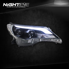 NightEye 2014-2015 New RAV4 LED Headlights RAV4 LED Headlight - NIGHTEYE AUTO LIGHTING