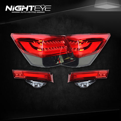 NightEye Accord Tail Lights 2008-2013 Accord8 LED Tail Light