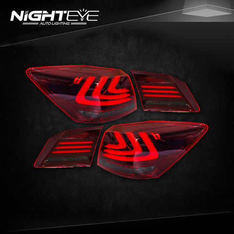NightEye Accord Tail Lights 2014-2015 New Accord9 LED Tail Light