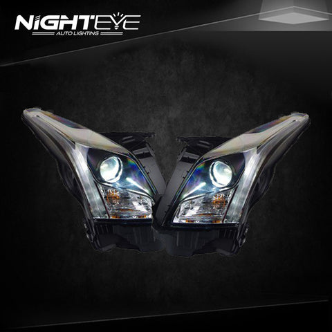 NightEye Cadillac ATS Headlights 2014-2015 ATS LED Headlight
